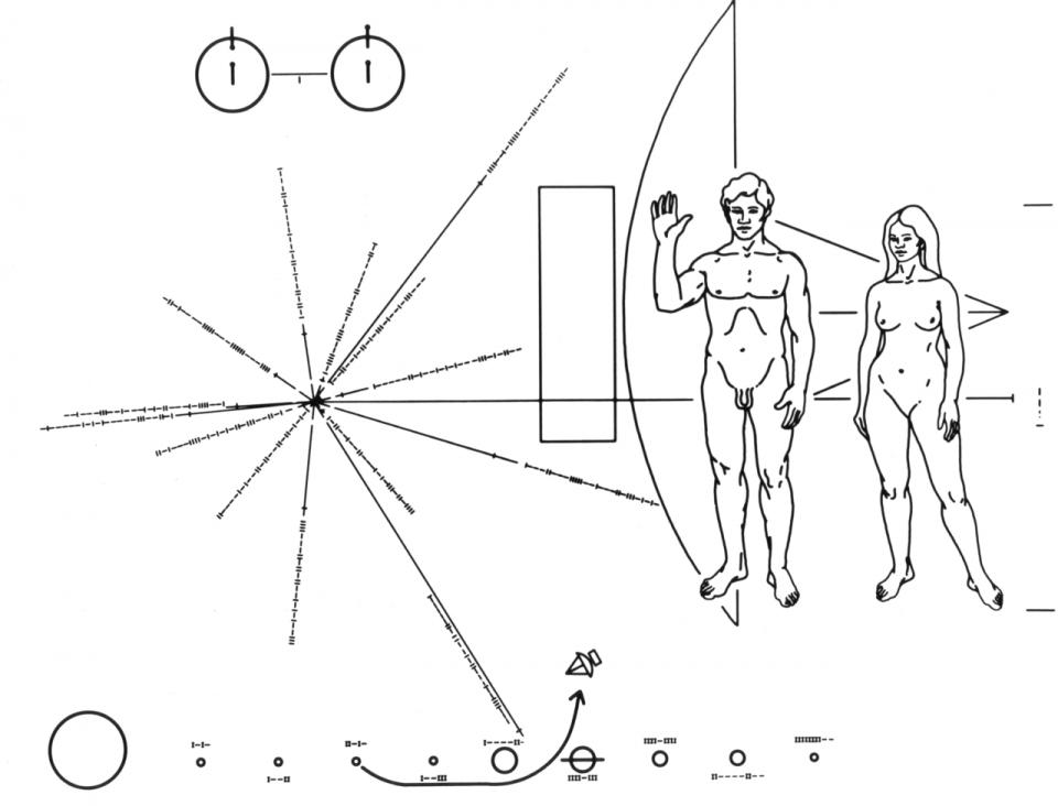 Voyager - https://en.wikipedia.org/wiki/Voyager_1