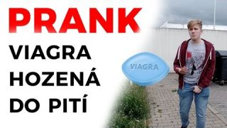PRANK - Viagra hozená do pití / Viagra thrown into drink